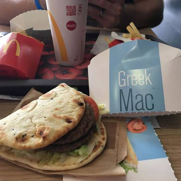McDonald's Has Lots Of Special Foods In Different Countries