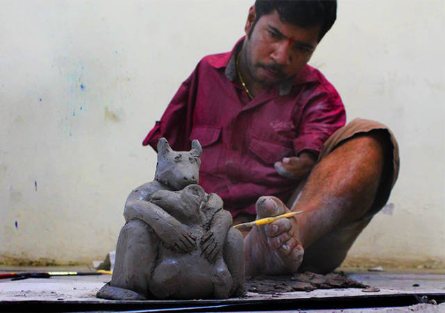 Disability Is Nothing For A True Artist!