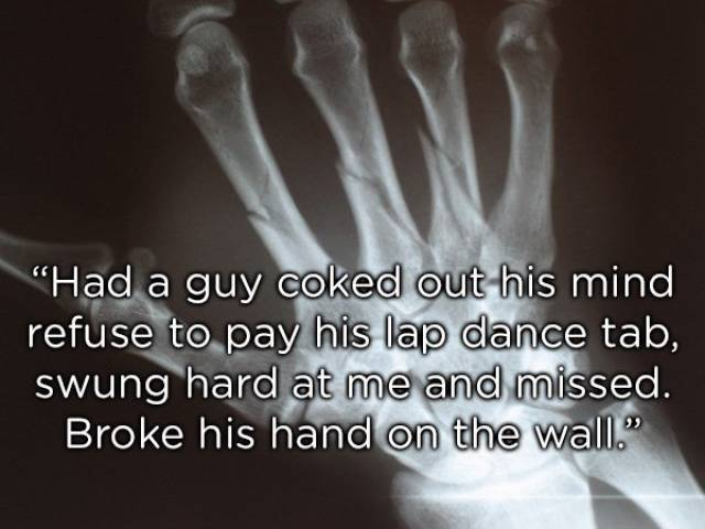 Bouncers Have A Hell Of A Hard Job…