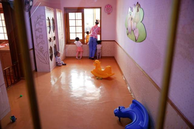 Childhood Is Something Different In North Korea