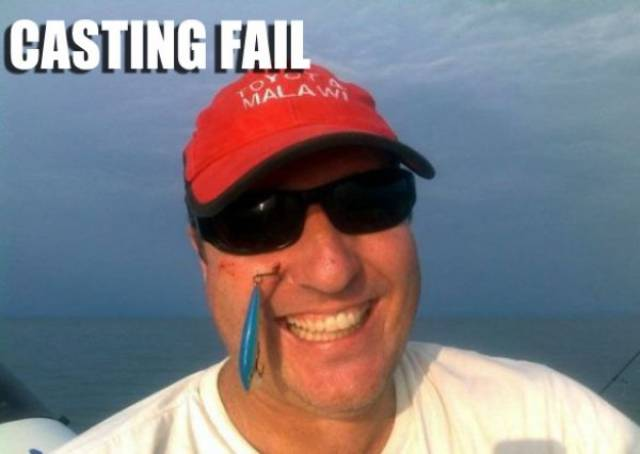 Fishing Is Mostly Failing…