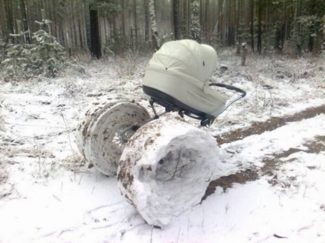 This Is How Freezing Winter Can Be…