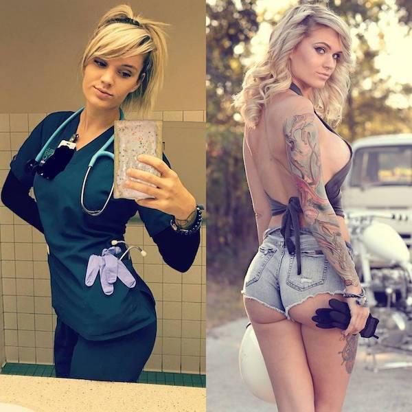 Astonishing Uniform Ladies