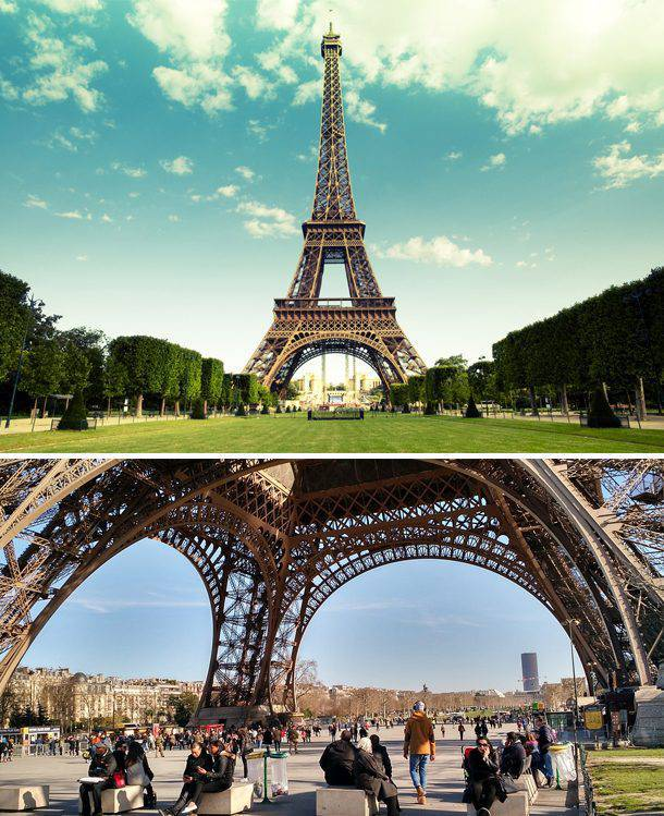 How Popular Travel Destination Photos Should Really Look Like