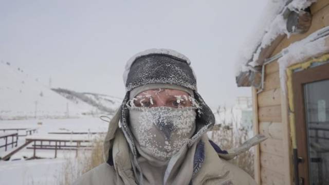 In The World's Coldest Village -62°C (-80°F) Is Not Even A Catastrophe