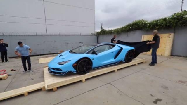 When You Open Your Brand New Lamborghini