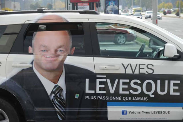 Some Advertisements Shouldn't Have Been Placed On Vehicles…