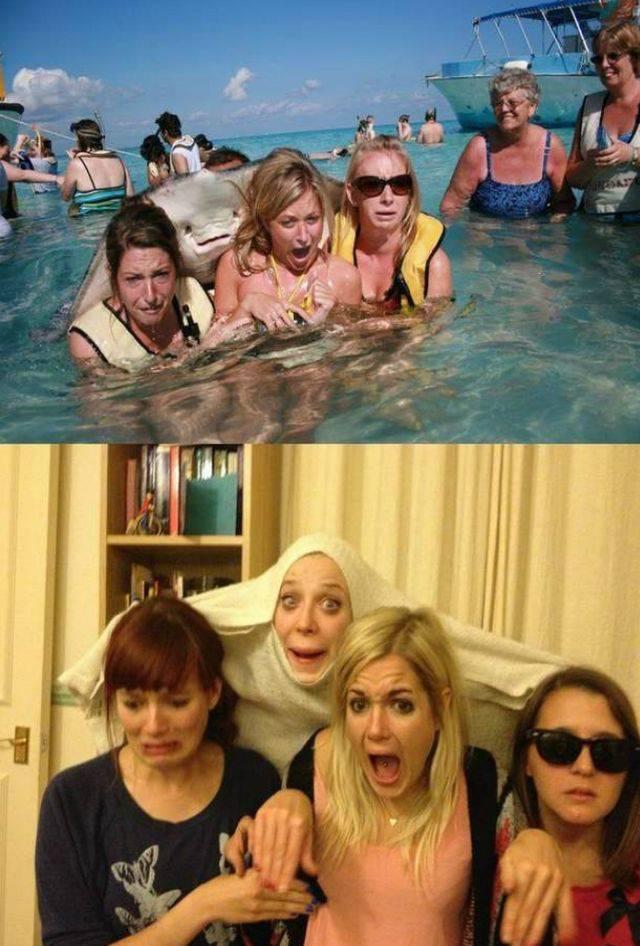 Girls Going a Little Crazy