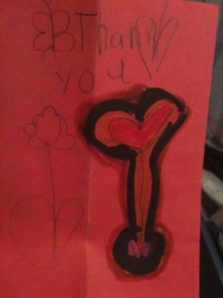 Kids Make The Most Brutal Gift Cards…