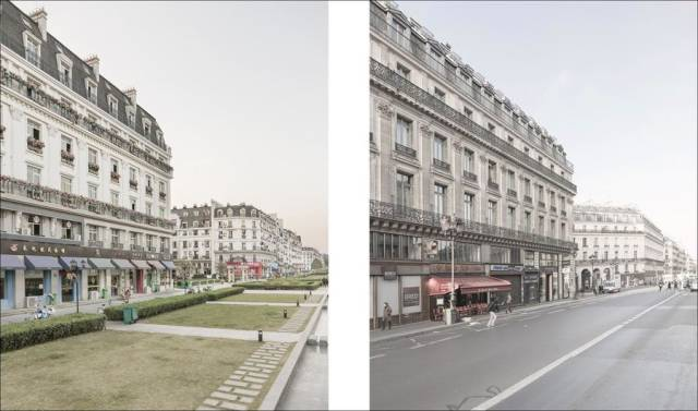 How Fake Chinese Paris Looks Compared To The Original One
