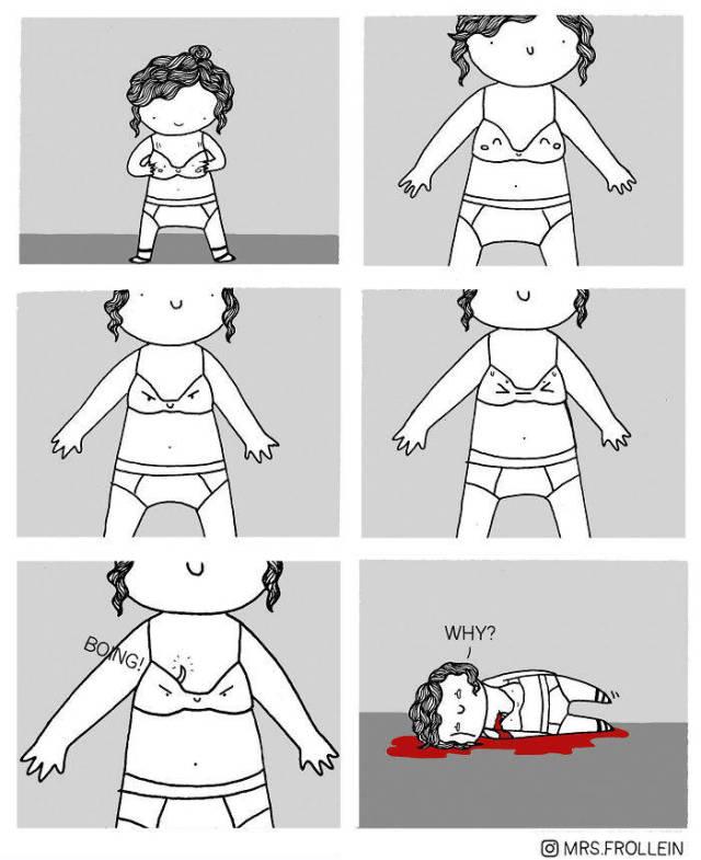 Bra Problems Are Something Beyond Men's Understanding