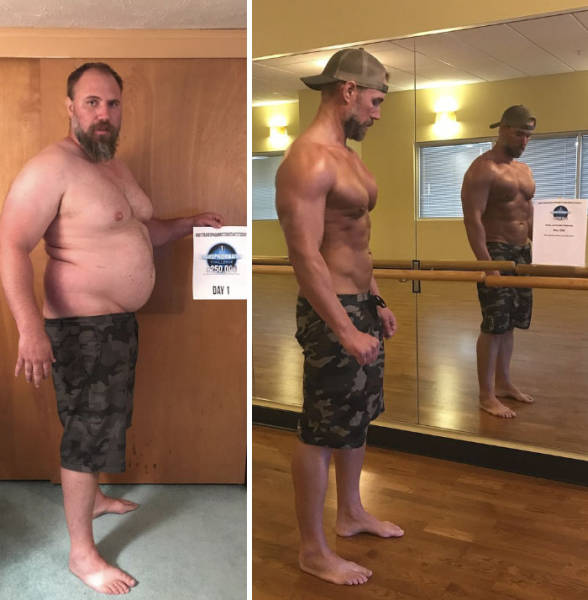 Father Of Two Loses 37 Kilos To Not Fall Behind While Walking With His Children