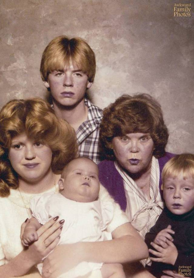 Family Portraits Don't Always Go As Planned…