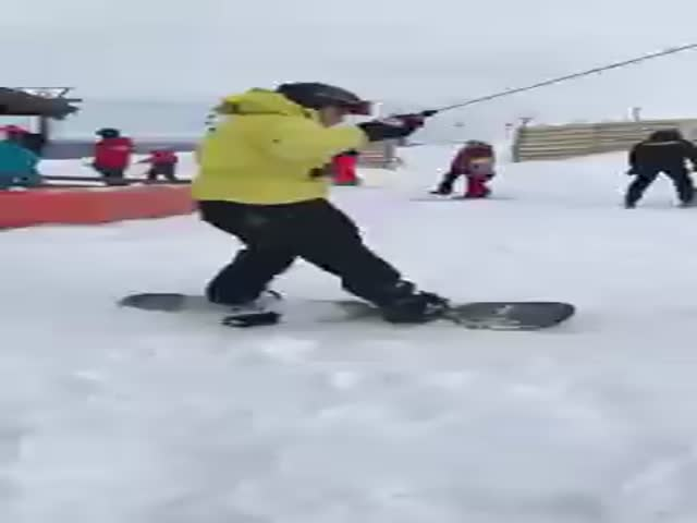 Snowboarding Just Isn't For Them…