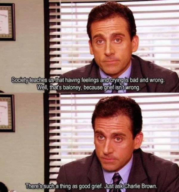 Michael Scott Always Could Give Anyone A Helpful Advice