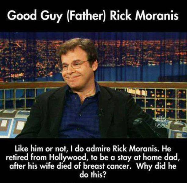 Take A Moment To Admire The Good Guy Rick Moranis