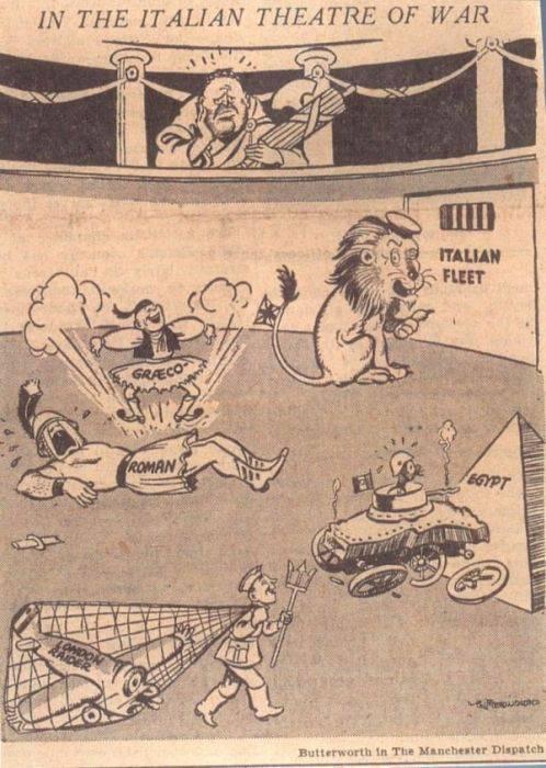 Cartoons About Politics From The Era Of World War II
