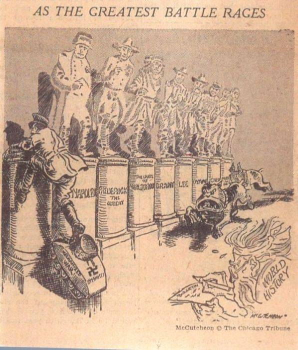 Cartoons About Politics From The Era Of World War II