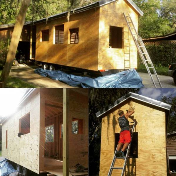 This Student Didn't Like His Dorm, So He Built Himself A $14000 House Instead
