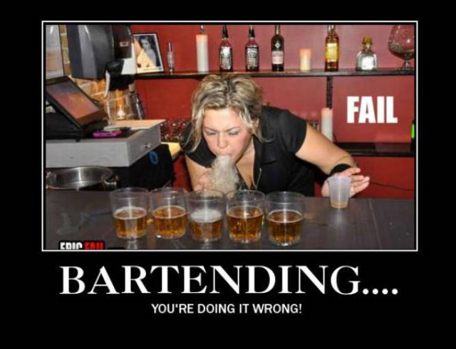 Bartending Gone Wrong