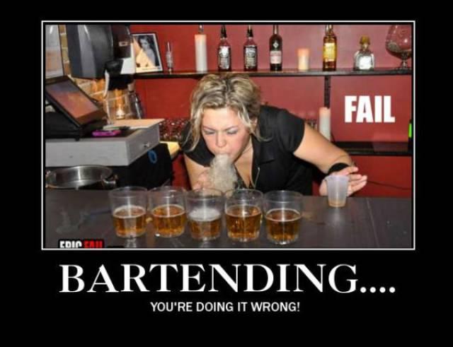 Bartending Gone Wrong