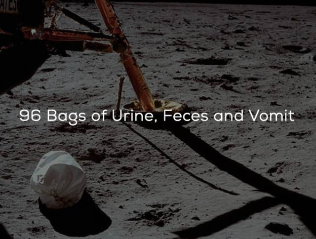 Moon Is Actually Full Of Stuff Left There By Humans