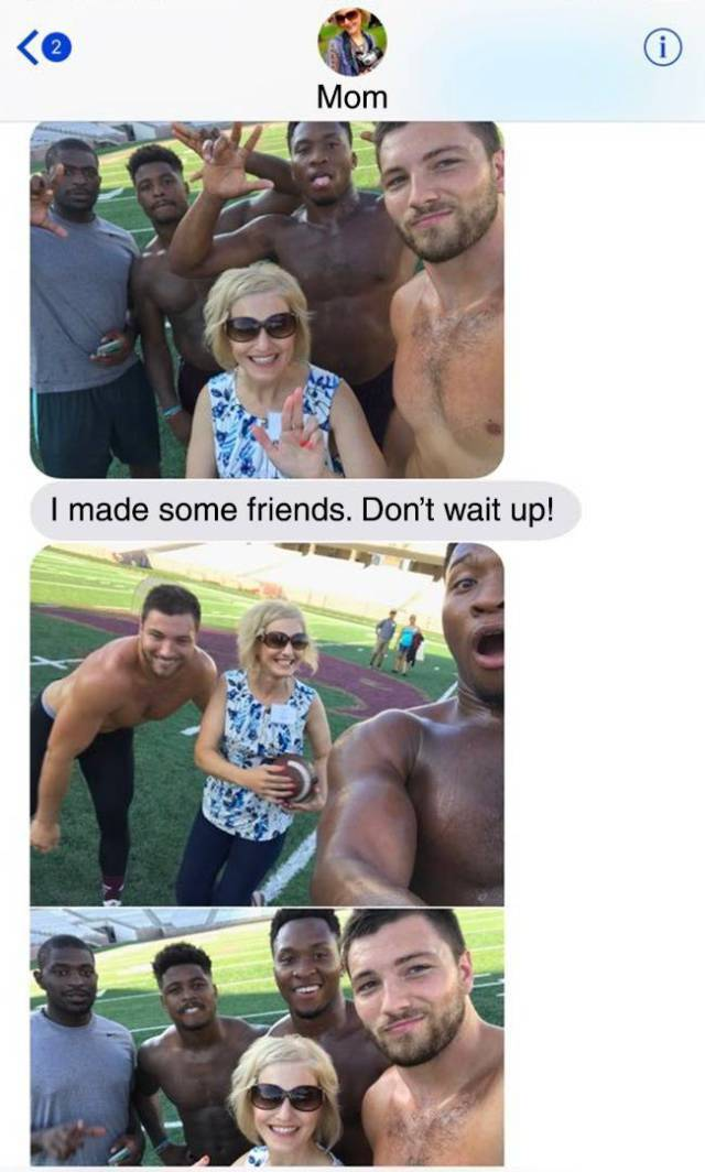 Moms With Sense Of Humor Are Best Moms
