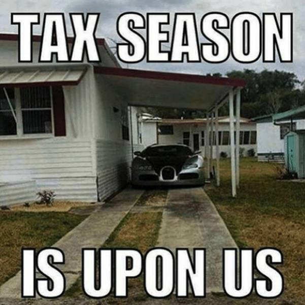 It's Tax Memes Time!