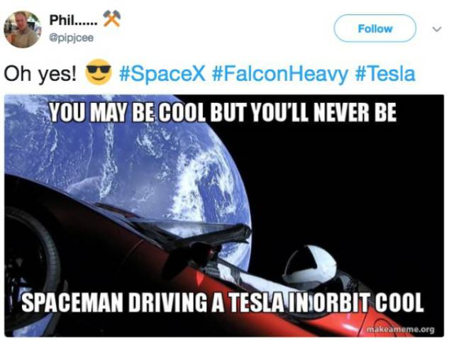 Falcon Heavy Just Had To Become A Target For Memes