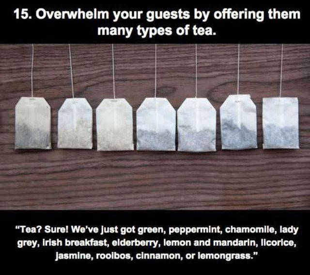 How To Make Your Guests Believe That Your Life Is Very Organized And Exquisite