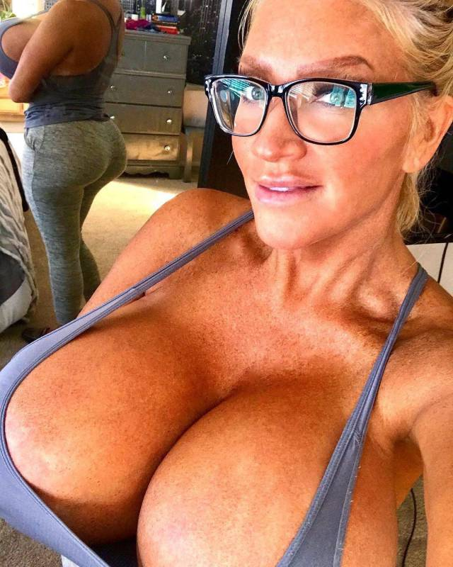 Allegra Cole And Her Two Giant Boobs