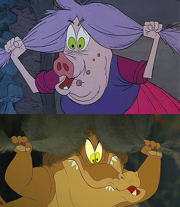 Disney Characters Sometimes Sneak Into Other Disney Movies…