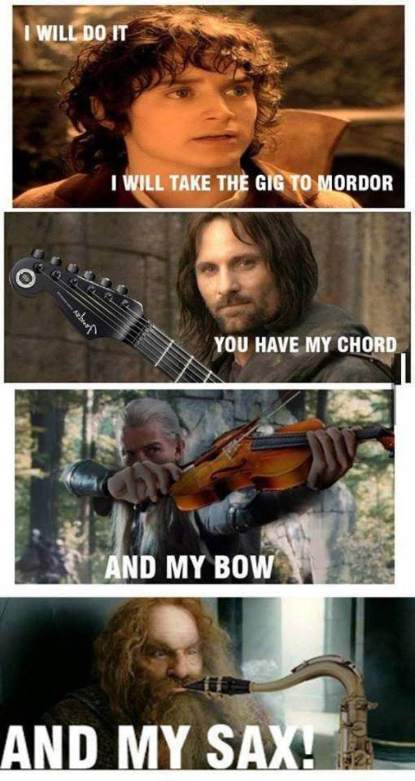 """Lord Of The Rings"" Memes To Rule Them All"