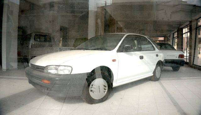 On Malta There Is A Showroom With Untouched Subaru Cars From The 80's