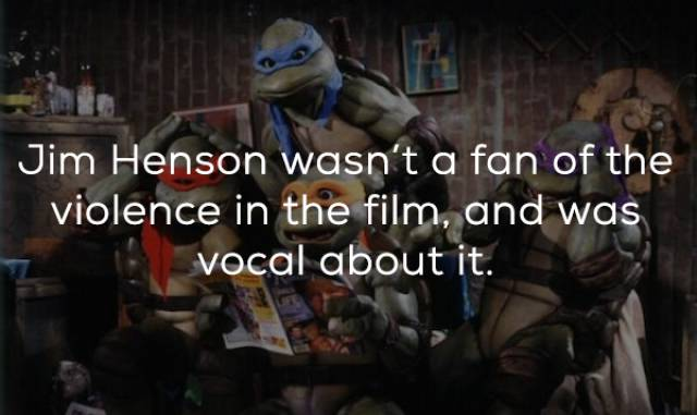 Rebellious Facts About The Original Ninja Turtles Movie