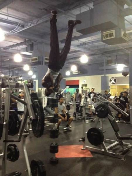 Some People Go To The Gym Just To Fail