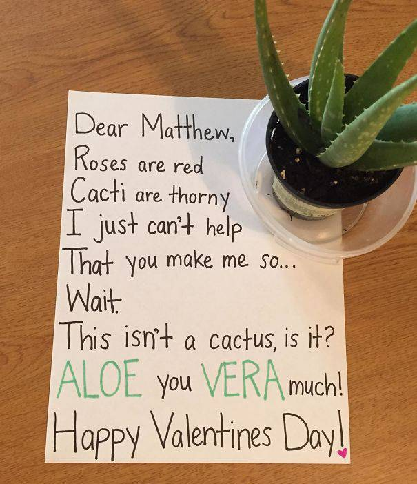When Valentine's Day Gift Cards Are Borderline Genius