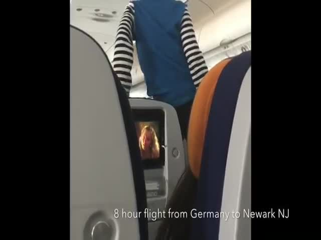 That Kid Just Never Stopped Screaming During The Flight…