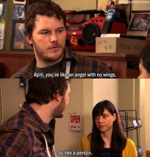Andy And April Know What Love Really Looks Like