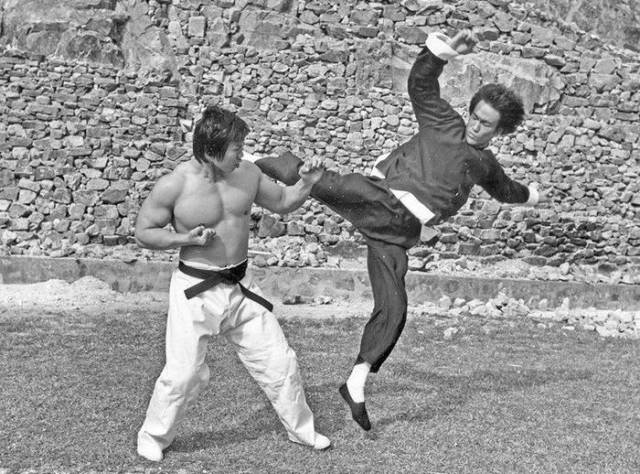 Bruce Lee And Bolo Yeung, The Real Legends, Together