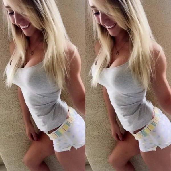 Girls Always Look Great In Those Tank Tops