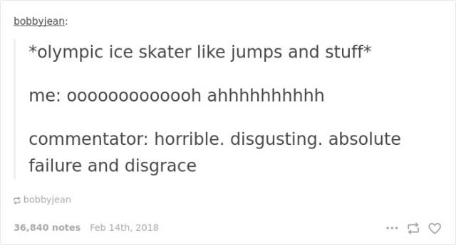 Winter Olympics Is Even Funnier With Internet Comments