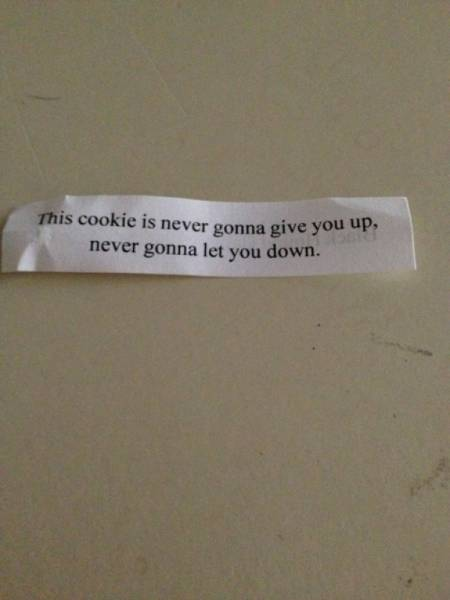 Fortune Cookie Messages Can Be Very Surprising