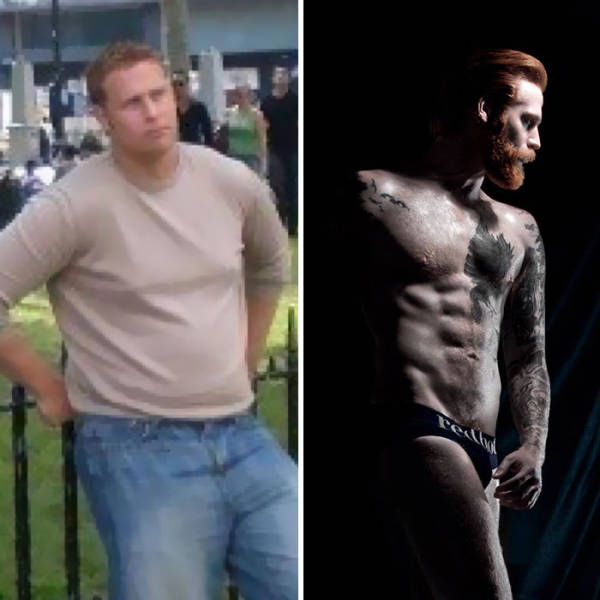 The Only Things He Needed Were Less Weight And A Ginger Beard…