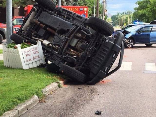 Some Car Accidents Are Plain Hilarious