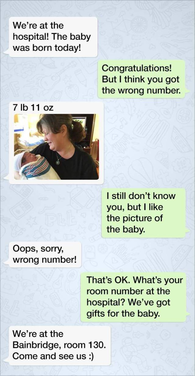 Wrong Number Conversations Should Always End Like This