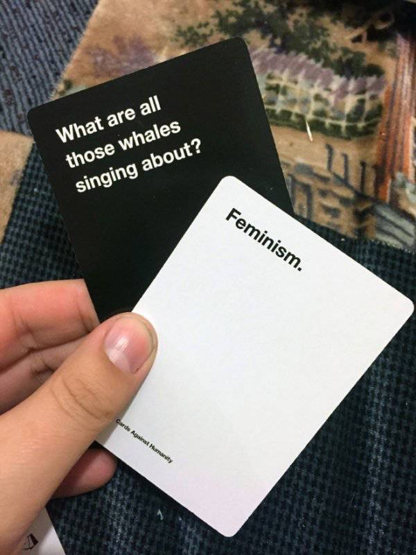 """Better Stay Away From Those """"Cards Against Humanity""""!"""