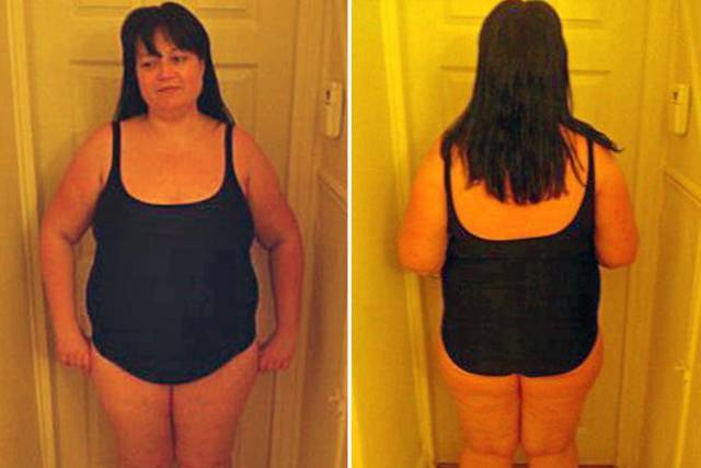 This Mom Managed To Lose Almost Half Of Her Weight After Seeing Her Photo In A Swimsuit