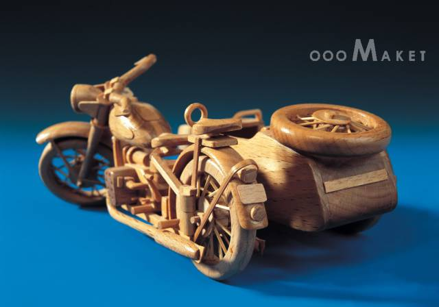 Unique Wooden Models From Russia Which Only Exist In One Copy Each