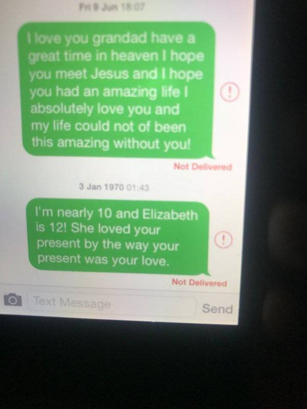 Dad Found Out His Little Daughter Was Still Messaging Her Late Grandpa